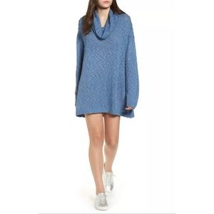 Somedays Lovin Sweater Dress Cowl Neck